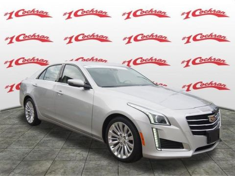Pre-Owned 2016 Cadillac CTS 3.6L Luxury AWD