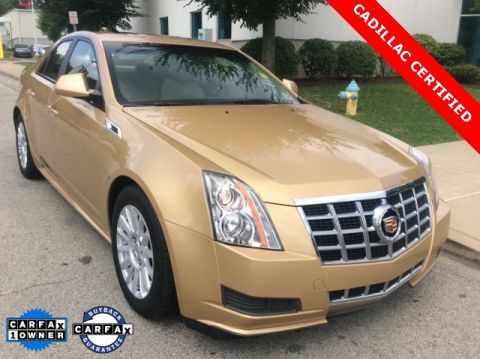 Certified Pre-Owned 2013 Cadillac CTS Luxury AWD