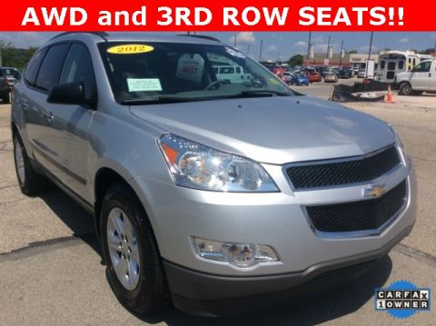 Pre-Owned 2012 Chevrolet Traverse LS AWD