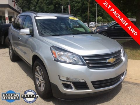 Certified Pre-Owned 2015 Chevrolet Traverse LT AWD