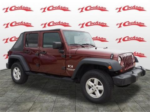 Pre-Owned 2007 Jeep Wrangler Unlimited X 4WD