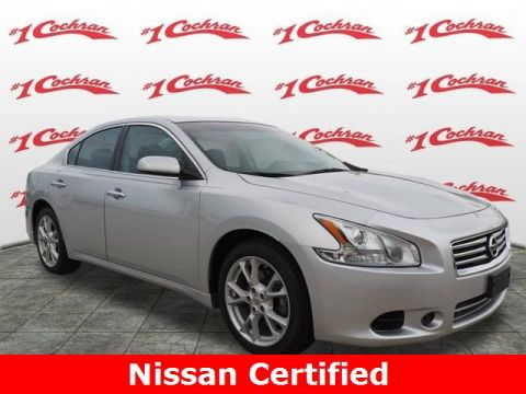 Certified Pre-Owned 2014 Nissan Maxima 3.5 S FWD 4D Sedan
