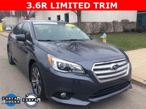 Certified Pre-Owned 2015 Subaru Legacy 3.6R AWD