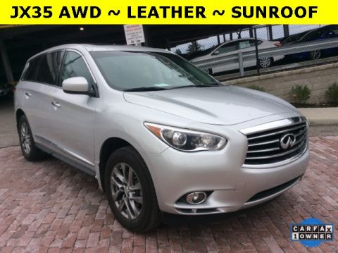 Certified Pre-Owned 2013 Infiniti JX35  AWD