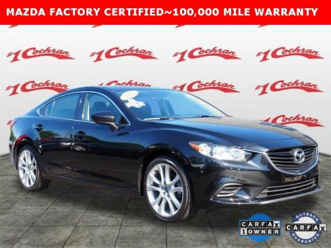 Certified Pre-Owned 2014 Mazda6 i Touring FWD With Navigation