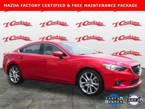 Certified Pre-Owned 2015 Mazda6 i Grand Touring FWD With Navigation