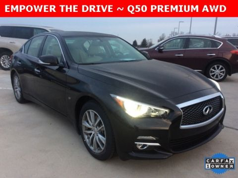 Certified Pre-Owned 2015 INFINITI Q50 Premium AWD