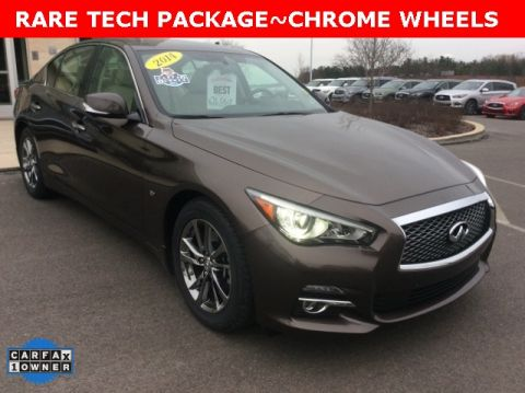 Certified Pre-Owned 2014 INFINITI Q50 Premium AWD