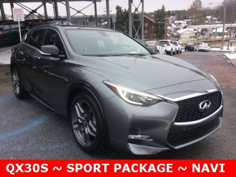 Certified Pre-Owned 2017 INFINITI QX30 Sport FWD 4D Sport Utility