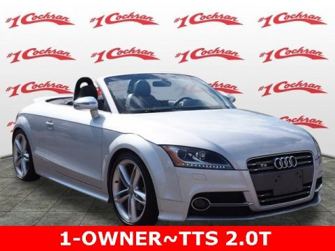 Pre-Owned 2015 Audi TTS 2.0T Roadster quattro 2D Convertible