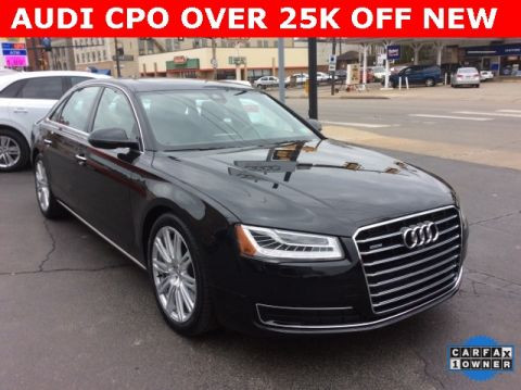 Certified Pre-Owned 2015 Audi A8 L 4.0T quattro 4D Sedan