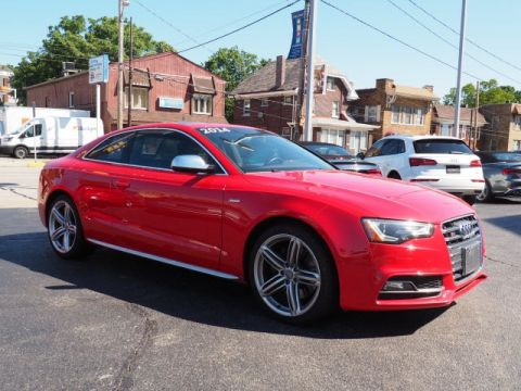 Pre-Owned 2014 Audi S5 3.0T Premium Plus quattro 2D Coupe