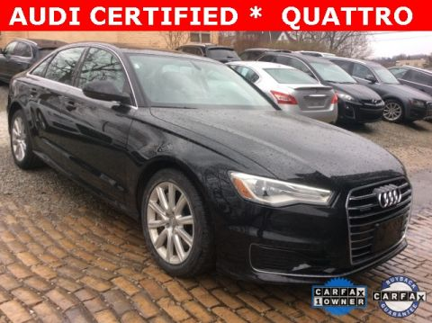 Pre-Owned 2016 Audi A6 2.0T Premium quattro 4D Sedan