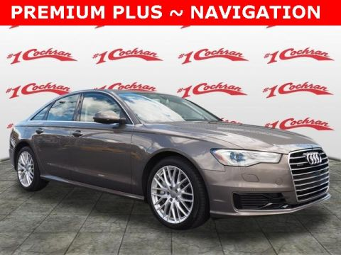 Certified Pre-Owned 2016 Audi A6 2.0T Premium Plus quattro 4D Sedan