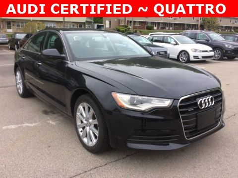 Certified Pre-Owned 2015 Audi A6 2.0T Premium Plus quattro 4D Sedan