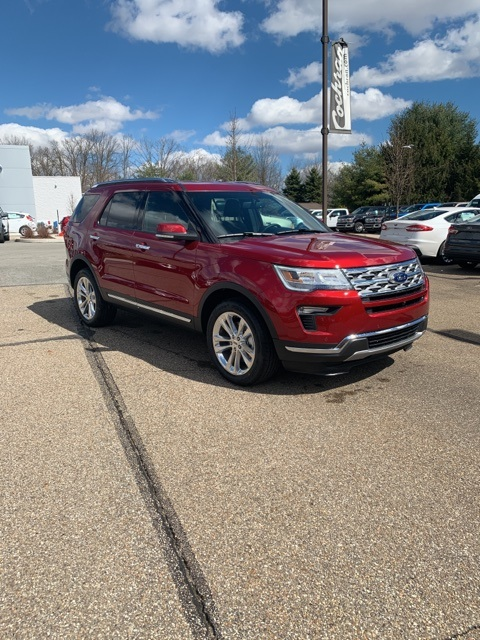 Ford Explorer Limited >> New 2019 Ford Explorer Limited 4d Sport Utility In Natrona Heights