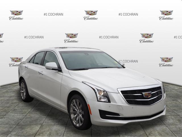 New 2018 Cadillac Ats 2 0l Turbo Luxury 4d Sedan In Monroeville