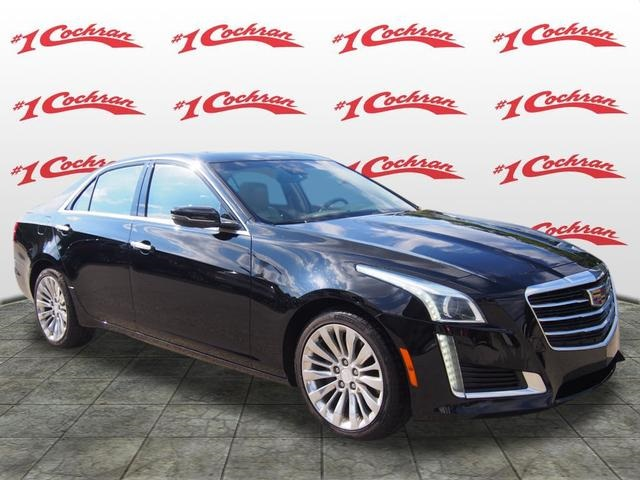 Certified Pre Owned 2016 Cadillac Cts 2 0l Turbo Luxury