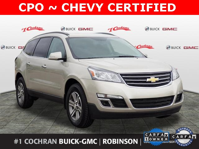 Certified Pre Owned Chevy >> Certified Pre Owned 2017 Chevrolet Traverse Lt Awd