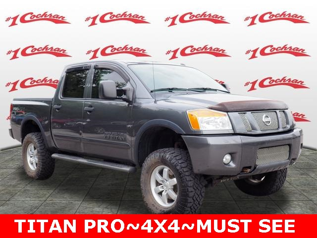 Pre-Owned 2010 Nissan Titan PRO