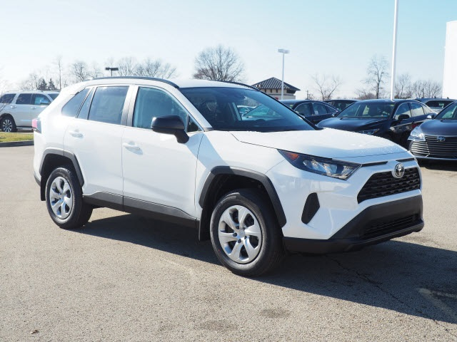 New 2019 Toyota Rav4 Le 4d Sport Utility In Huntingdon Ct190261