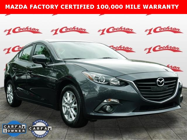 Certified Pre-Owned 2016 Mazda3 i Grand Touring