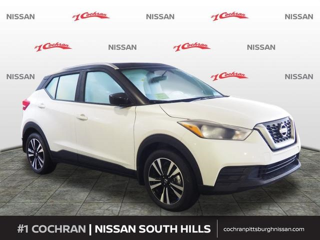 New 2018 Nissan Kicks Sv 4d Sport Utility In Pittsburgh Sn180769