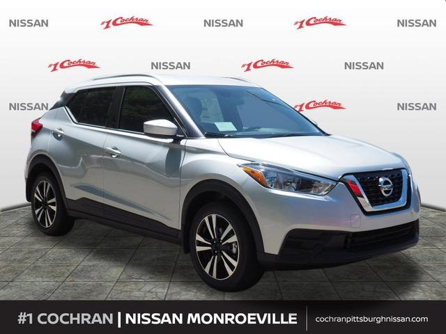 New 2018 Nissan Kicks Sv 4d Sport Utility In Pittsburgh En180497