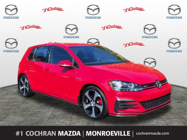2018 Golf Gti >> Pre Owned 2018 Volkswagen Golf Gti 2 0t S Fwd 4d Hatchback