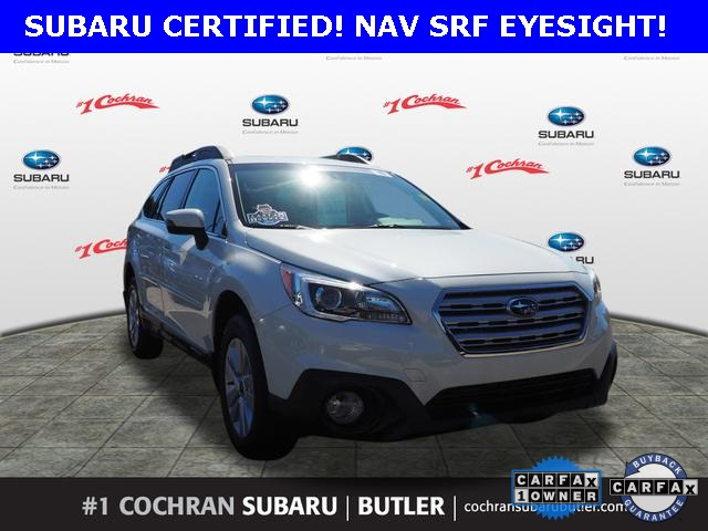 Subaru Certified Pre Owned >> Certified Pre Owned 2017 Subaru Outback 2 5i Premium Awd