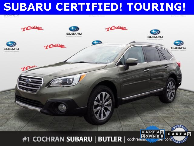 Subaru Certified Pre Owned >> Certified Pre Owned 2017 Subaru Outback 2 5i Touring Awd With Navigation