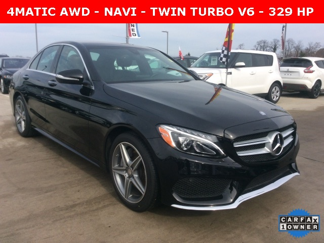 Pre-Owned 2015 Mercedes-Benz C-Class C400