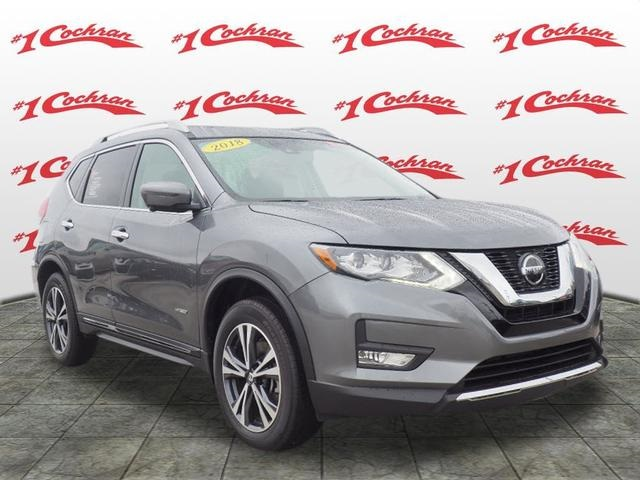 Certified Pre Owned 2018 Nissan Rogue Hybrid Sl