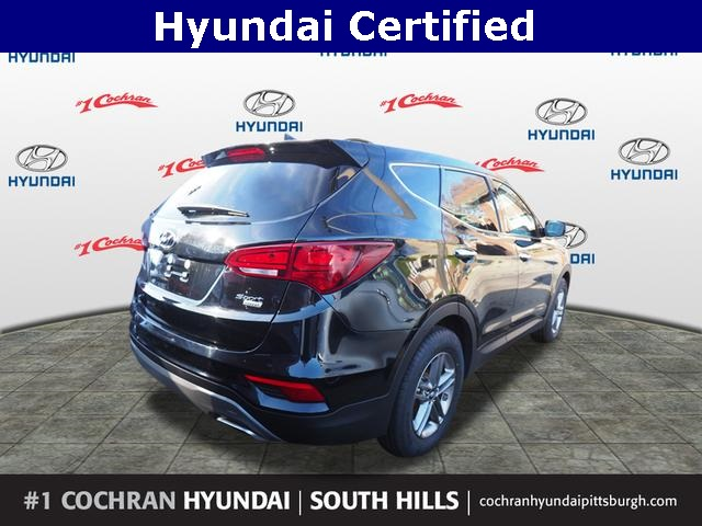 Hyundai Certified Pre Owned >> Certified Pre Owned 2017 Hyundai Santa Fe Sport 2 4 Base Awd