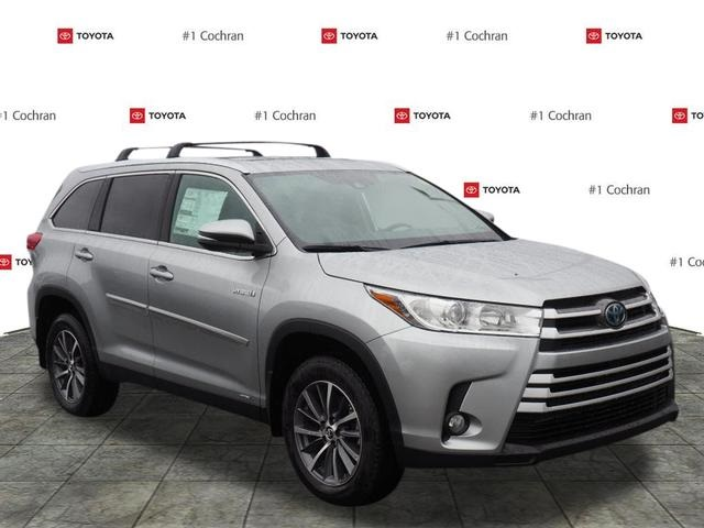 New 2019 Toyota Highlander Hybrid Xle 4d Sport Utility In Huntingdon