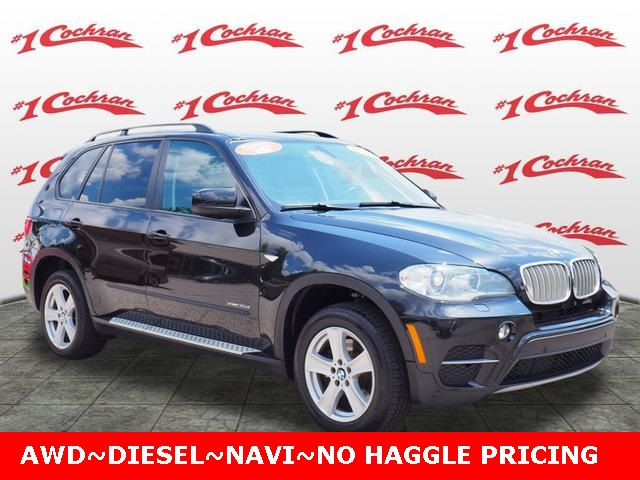 Pre Owned 2012 Bmw X5 Xdrive35d Awd