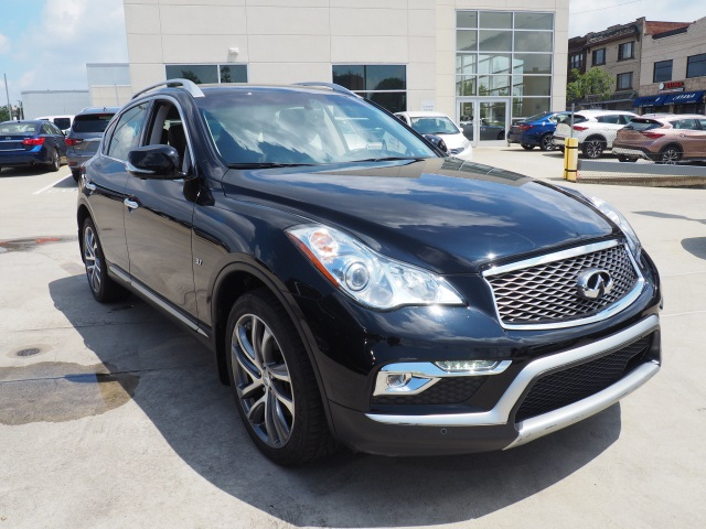 Certified Pre-Owned 2016 INFINITI QX50 Deluxe Touring & Tech Packages