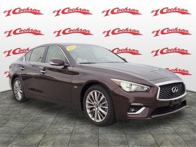 Certified Pre Owned 2018 Infiniti Q50 3 0t Luxe