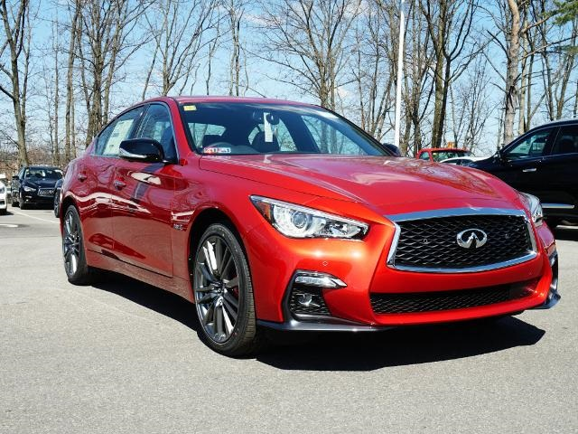 new 2019 infiniti q50 red sport 400 4d sedan in wexford i19302 1 cochran. Black Bedroom Furniture Sets. Home Design Ideas