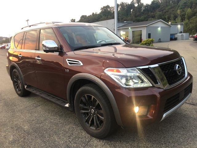 Certified Pre-Owned 2018 Nissan Armada Platinum