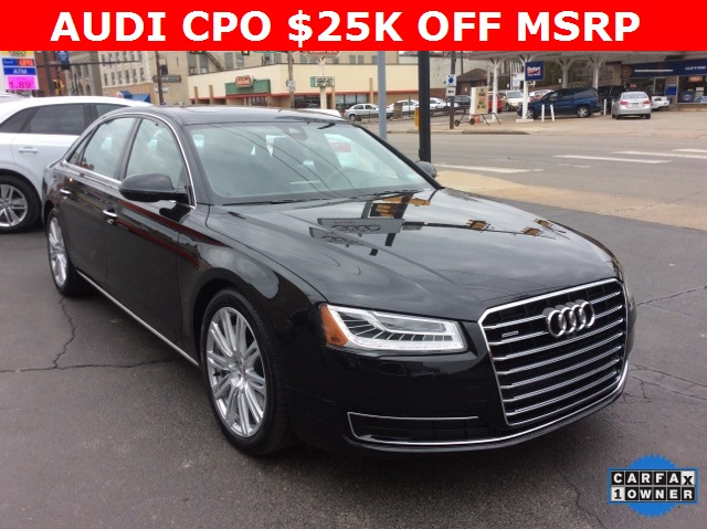 certified pre owned 2015 audi a8 l 4 0t 4d sedan in pittsburgh. Cars Review. Best American Auto & Cars Review