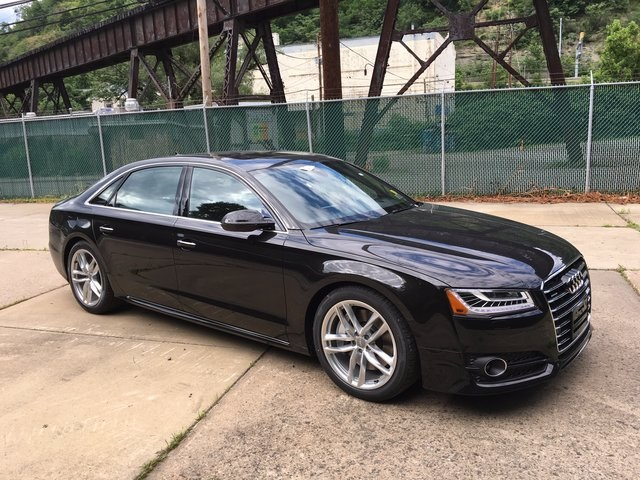 new 2017 audi a8 l 4 0t sport 4d sedan in pittsburgh ap170210 1 cochran. Black Bedroom Furniture Sets. Home Design Ideas