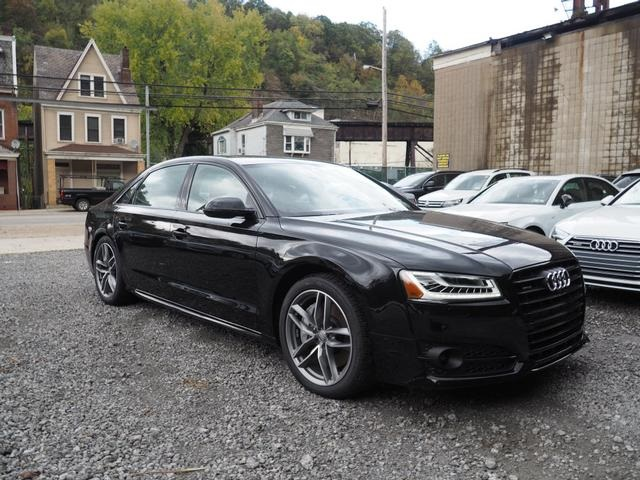 new 2017 audi a8 l 3 0t 4d sedan in pittsburgh ap170443 1 cochran. Black Bedroom Furniture Sets. Home Design Ideas