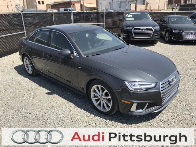 Audi A4 2.0T >> Pre Owned 2019 Audi A4 2 0t Premium Plus Quattro 4d Sedan