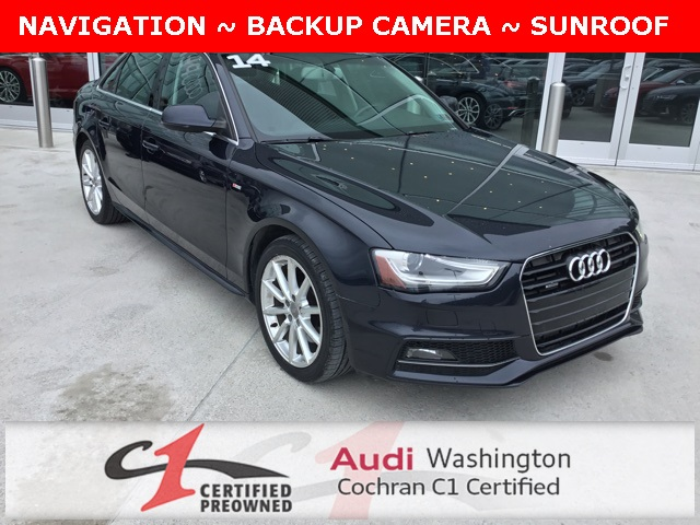Audi 2.0 T >> Pre Owned 2014 Audi A4 2 0t Premium Plus Quattro With Navigation