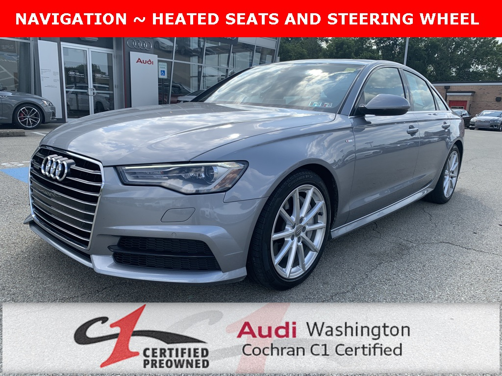 Audi A6 2.0 T >> Certified Pre Owned 2017 Audi A6 2 0t Premium Plus Quattro With Navigation