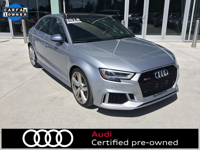 Certified Pre-Owned 2018 Audi RS 3 2.5T