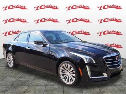 Certified Pre-Owned 2016 Cadillac CTS 2.0L Turbo Luxury AWD