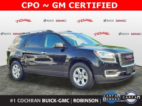 Certified Pre-Owned 2016 GMC Acadia SLE-1