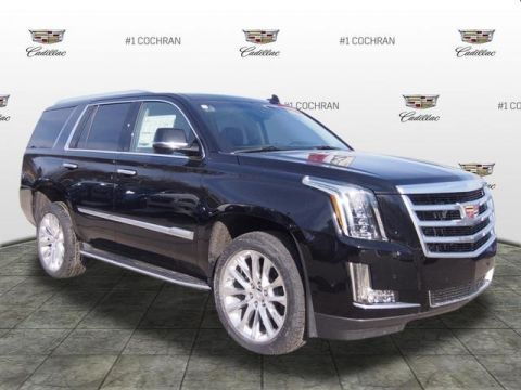 New 2019 Cadillac Escalade Luxury